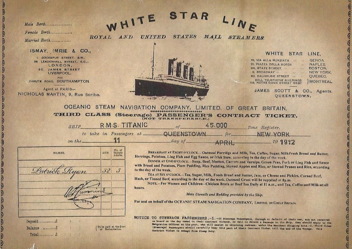 30 Facts About The Titanic The History Of Humanity